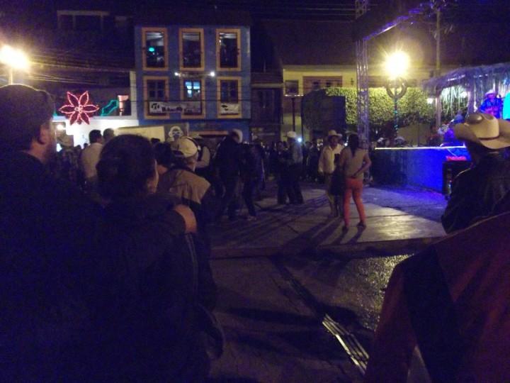 Baile en la plaza